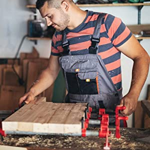 Set di morsetti per la lavorazione del legno