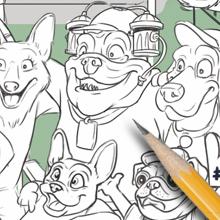 dog pencil puzzle