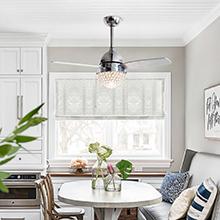 energy-saving ceiling fan light