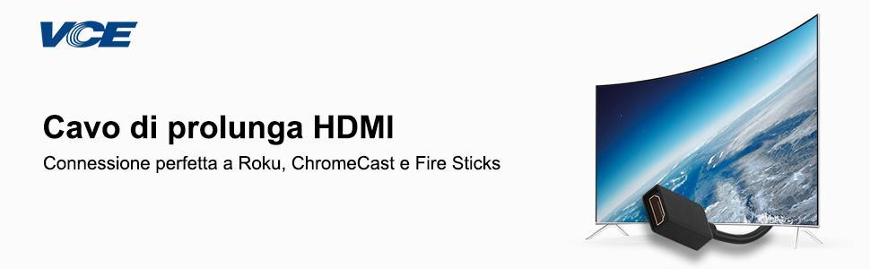 VCE Cavo di prolunga HDMI