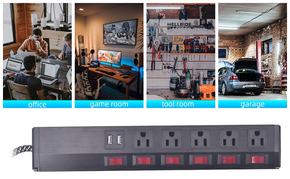 metal power strip,power strip surge protector with usb ports