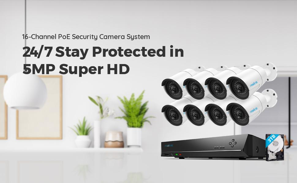410B8 5MP Security System