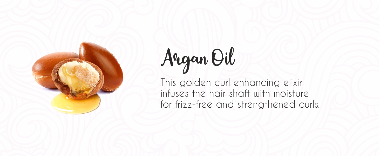 Argan Oil adds moisture and strengthens the frizz free curls   argan oil shampoo   sulfate free