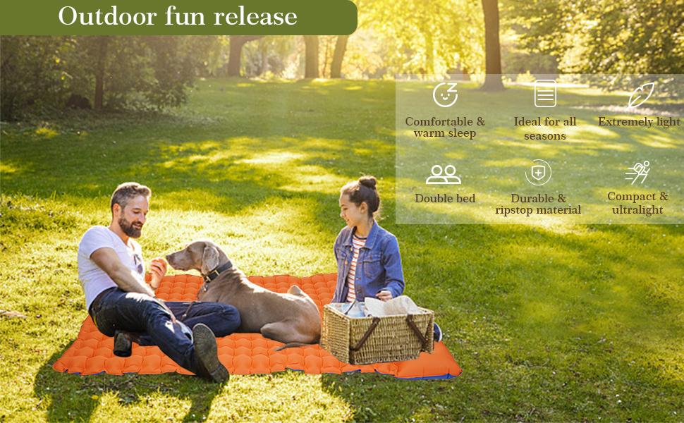 Outdoor fun release