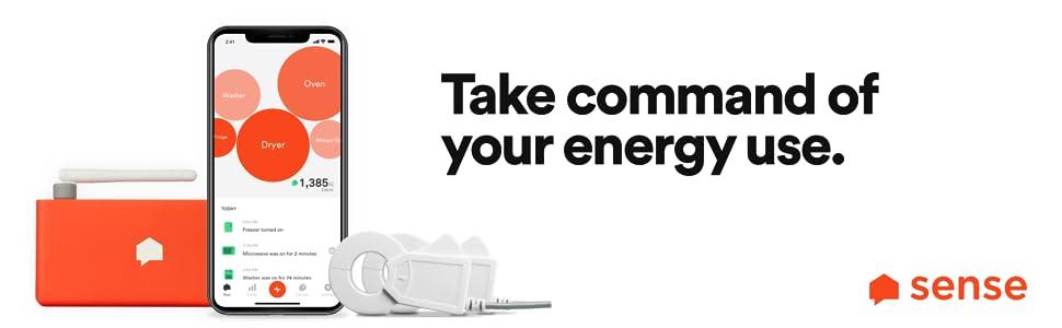 Sense,energy monitor
