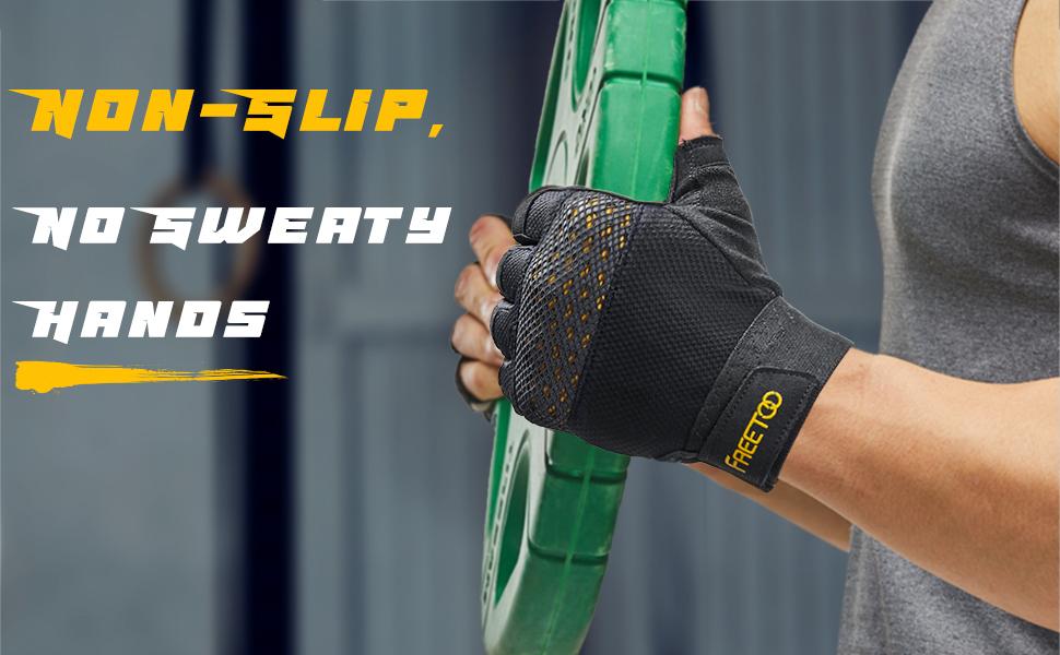 NON-SLIP no sweaty hands