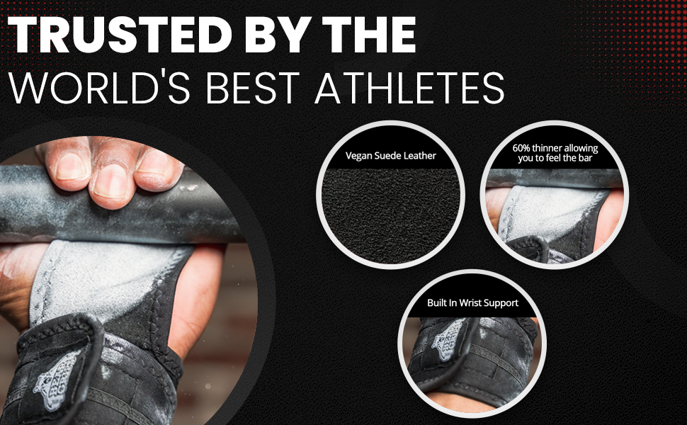 Trusted by top athletes