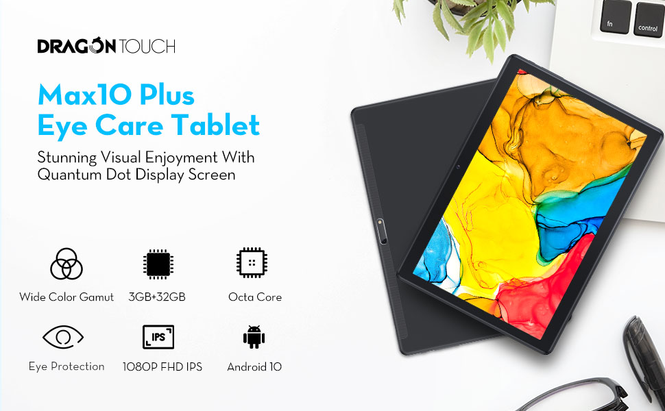dragon touch max10 plus tablet