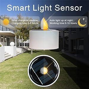 Waterproof Solar Tea Lights Outdoor Lighting