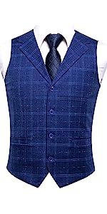 Blue Waistcoats and Blue Ties