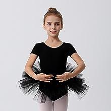 Kids Black Ballet Tutu