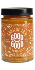 keto diabetes no added sugar natural apricot jam