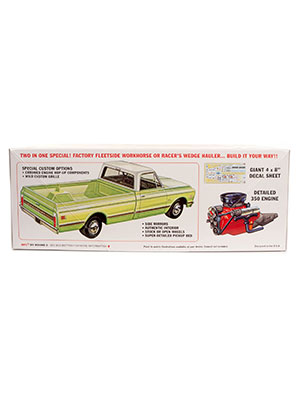 MPC885/12 Racer's Wedge 1972 Chevy Pickup