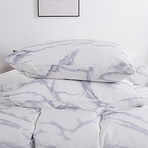白色大理石枕套
