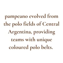 evolved from the polo fields