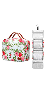 Floral Toiletry Bag for traveling women