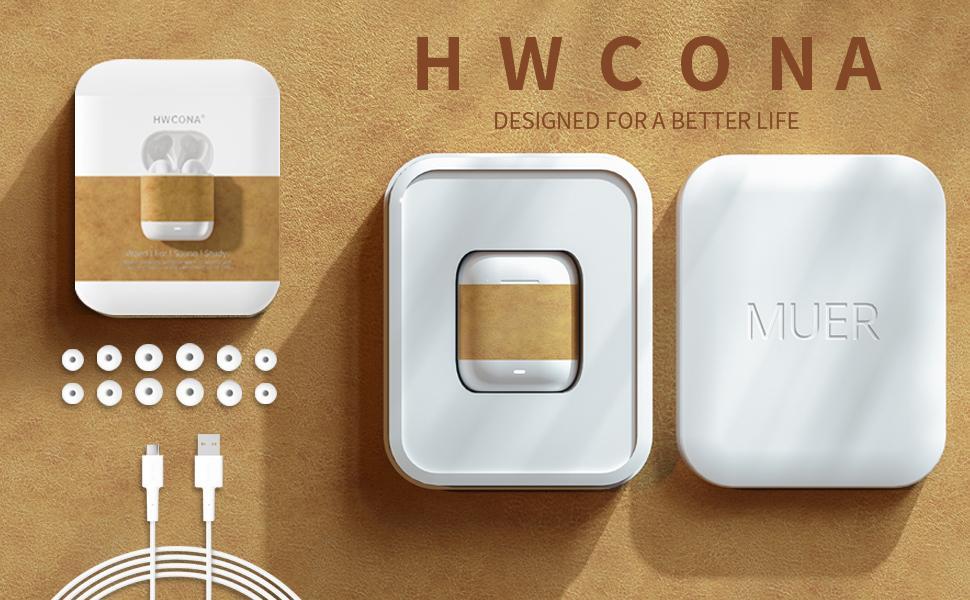HWCONA Wireless Earbuds