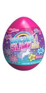 Unicornio SLIME EGG regalos para niñas Kit de Slime niña infantil regalo cumpleaños huevo sorpresa