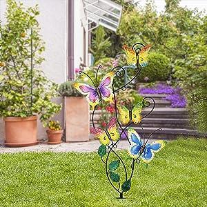 28 Inch Butterfly Garden Stake