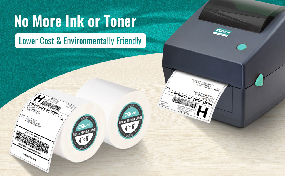 4x6 thermal labels