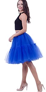 puffy tutu tulle skirts for women