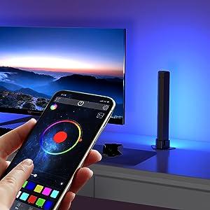 hue lampe gaming led tv hintergrundbeleuchtung led deko gaming