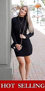 Slim Sweater Dress