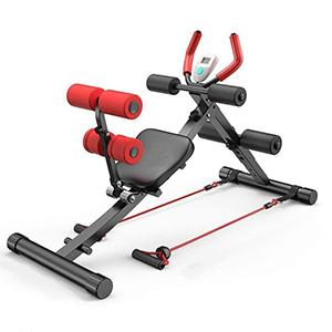 Abdominal Crunch Coaster Detachable Sit up Bench 2 in 1 Fitness Equipment