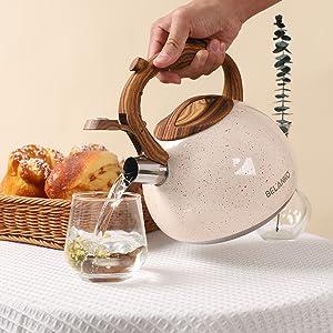 tea kettle stovetop