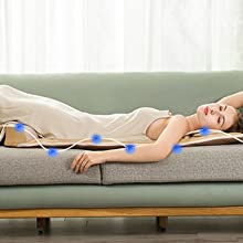 Freely massage all parts of the body and enjoy the feeling of lightness.