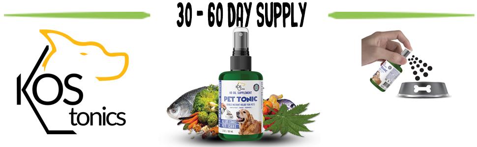 Wild Caught Salmon Oil Based Dog Supplements Spray