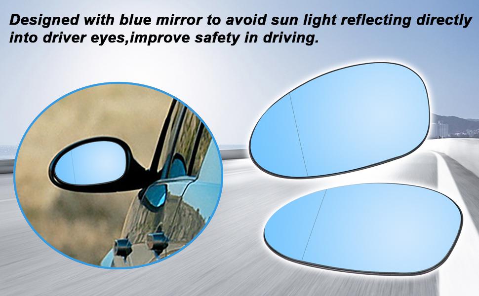 E90 Mirror Glass