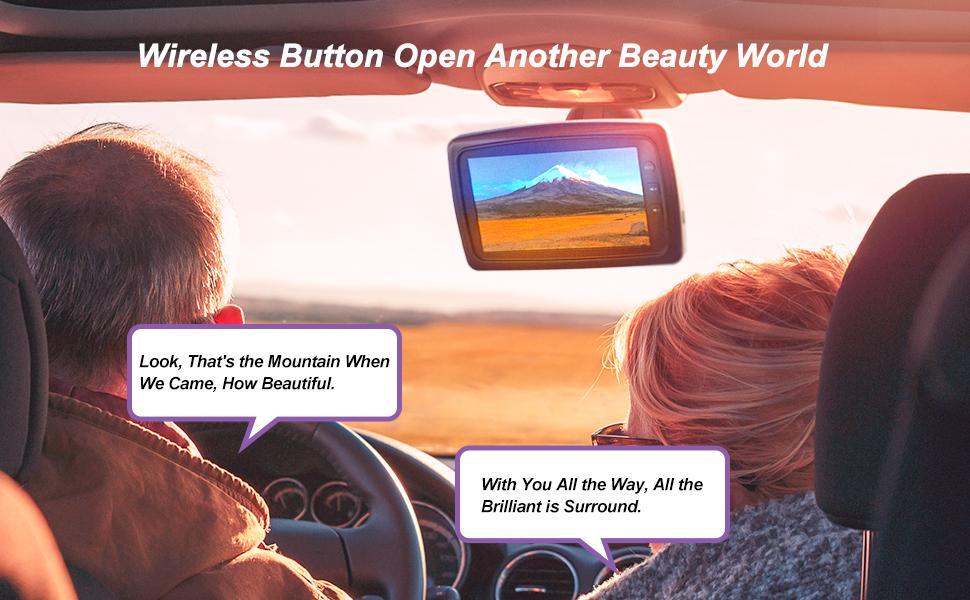 license plate wireless backup camera