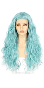 Loose Curly Synthetic Wigs for Black Women