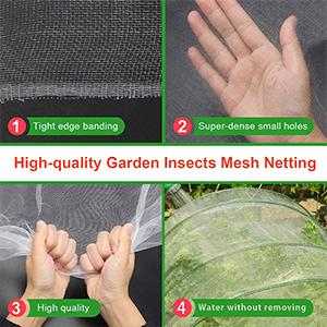 Filet Anti-Insectes pour légumes