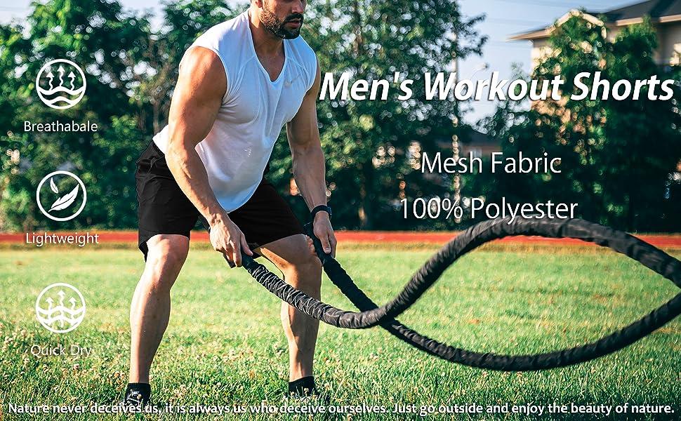 Running Shorts Men Mesh Shorts Mens Gym Shorts Training Shorts Quick Dry Shorts Men
