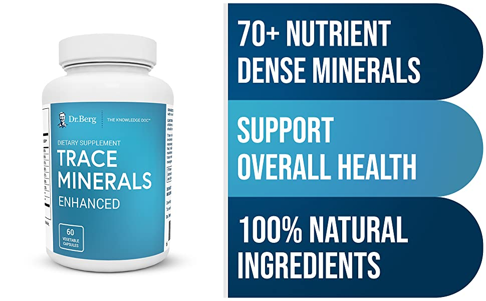 Dr Bergs Trace Minerals Enhanced