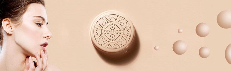 Air Cushion CC Cream Mushroom Head, Naturally Nude Makeup Concealer, Mushroom Head Moisturizing