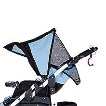 Heroclip Small in a stroller