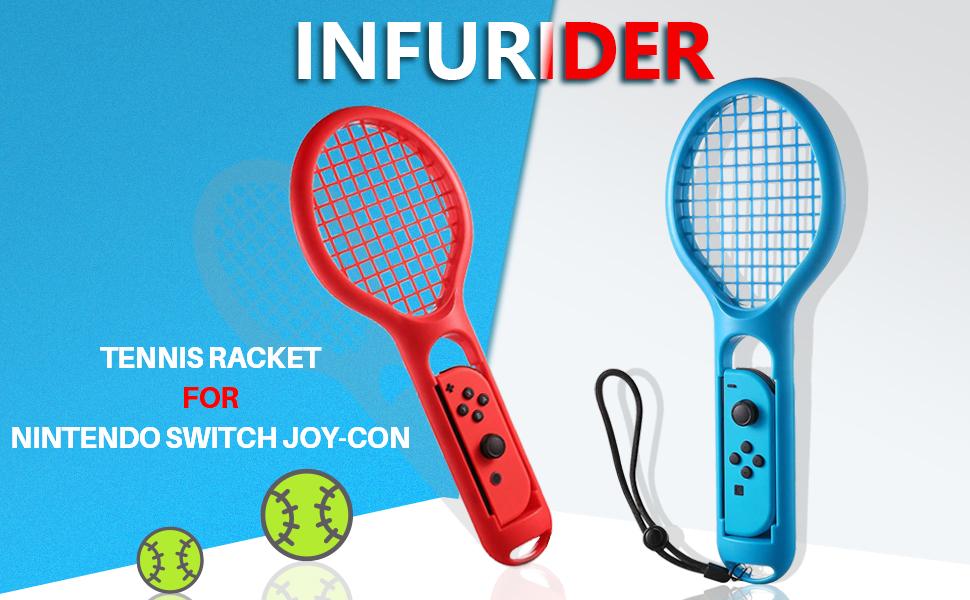 Tennis racket for Nintendo switch joy-con