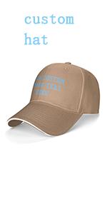 custom hat for men