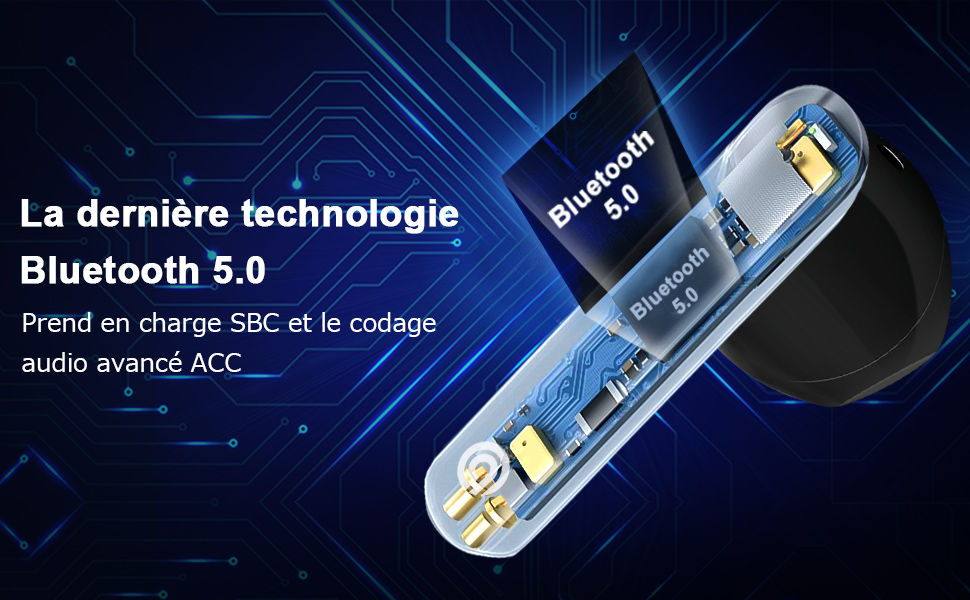 La dernière technologie Bluetooth 5.0