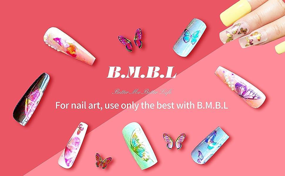 B.M.B.L nail stickers