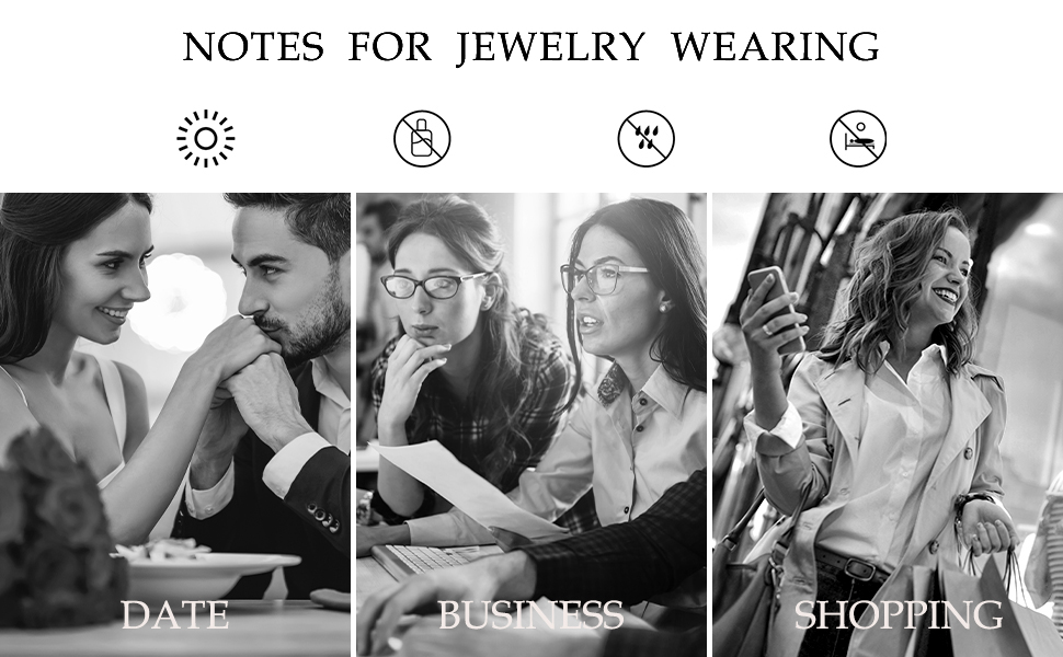 Notes for jewelry