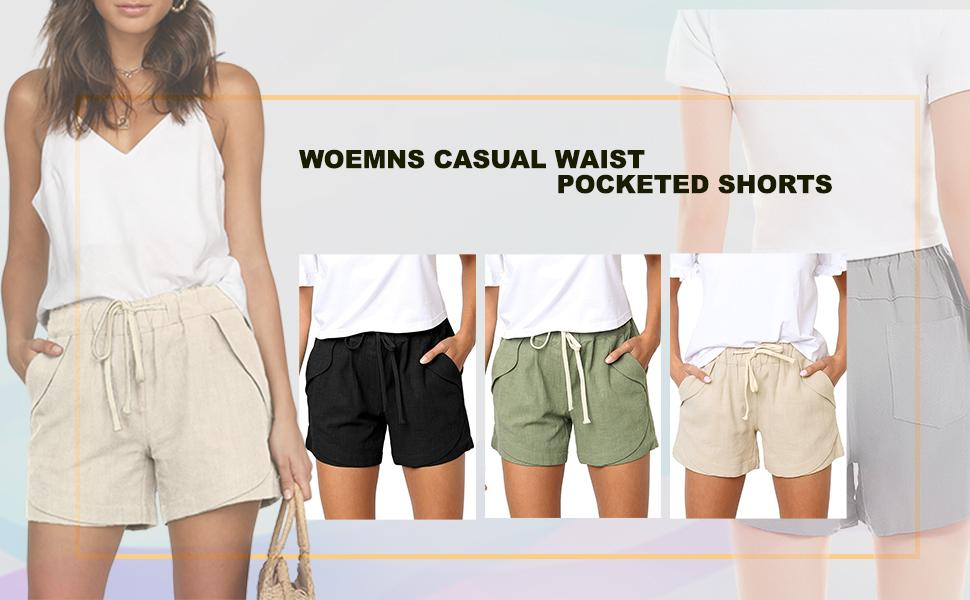 womens shorts summer