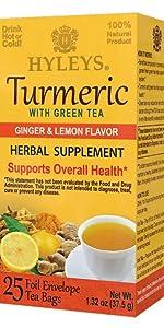 turmeric tea hyleys