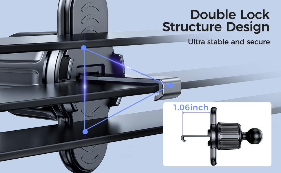 Double lock structure design