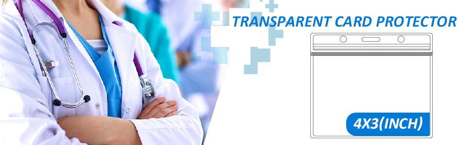 transparent card protector