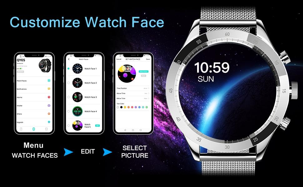 Customize Watch Face