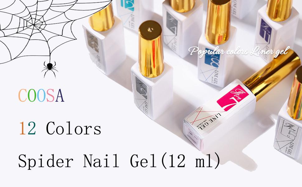 spider nail gel